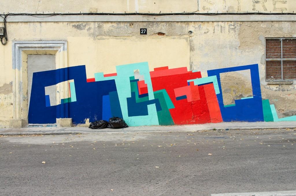 Mejor grafitado que pintado