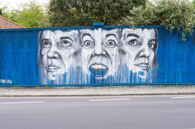 Muro azul (2)