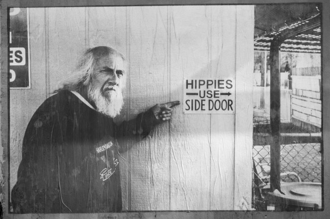 Hippies use side door (15)